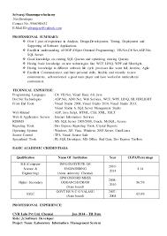 ... Beautifully Idea Net Developer Resume 11 Net Developer Resume ...