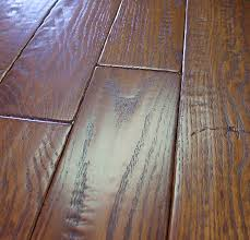 red oak prefinished hand sed distressed hardwood flooring photo