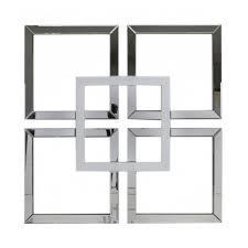 impressive mirror wall art home decor ideas white manhattan geo stickers uk diy 5