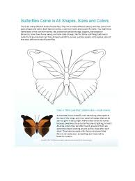 Printable Butterfly Outline 50 Printable Cut Out Butterfly Templates