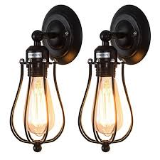 moaere wire cage wall sconce led