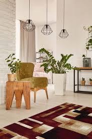 modern abstract area rug red beige gold black tile blocks rug ter rug stefan red 3 3 x5 genesis