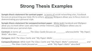 Essay Of Comparison And Contrast Examples Example Of Contrast And Comparison Essay Dew Drops