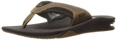 reef boys leather fanning flip flops varios colores black brown boys shoes sports outdoor pool reef flip flops world wide renown