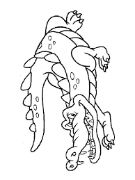 Small Picture Crocodile coloring pages Download and print crocodile coloring pages