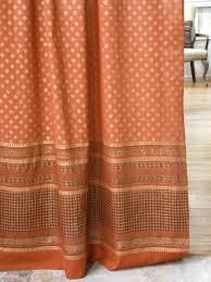 curtains ideas blaze orange along with