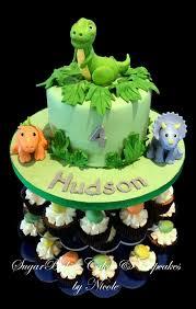 Baby Dinosaur Birthday Cake Cupcake Tower Yelp