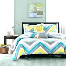 blue chevron bedding grey chevron bedding set details about sporty blue teal yellow grey white chevron blue chevron bedding chevron duvet cover sham