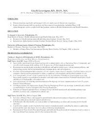 new grad nursing resume clinical experience sample new graduate nurse resume resume