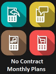 No Contract Monthly Cell Phone Plans Guide Comparison Chart