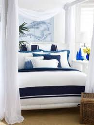Navy Bedroom Curtains Blue And White Bedrooms Pinterest Black And White Bedroom Ideas