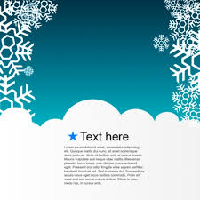 Greeting Card Samples Winter Template Greeting Card Vector Free Download