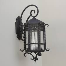 Spanish Style Outdoor Lighting Fixture Lightsoftuscany Com