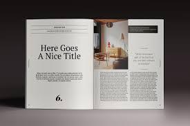 Indesign Magazine Templates Last Chance 15 Indesign Magazine Brochure Templates