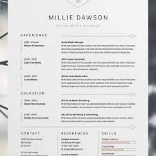 Resume Template Pinterest 24 Best Creative Cv Template Ideas On Pinterest Creative Cv In 9