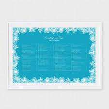 Seating Chart In Alphabetical Order Aloha Wedding Seating Chart
