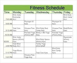 Sample Workout Calendar Beauteous Plan Template Printable Workout Calendar Kiddo Shelter Fitness