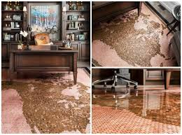 one of those details was the massive penny floor in my office it took almost 30 000 pennies and over a month to install but it s one of my favorite