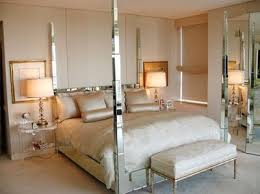 bedroom with mirrored furniture. I Posted About Dame Nancy Corzine U0027s Lush Mirrored Bedroom With The Four Poster Bed A Month Ago Her Was Elegant Bright An Furniture