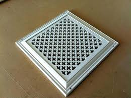 cold air return vent covers decorative square wall ai