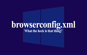 what is the browserconfig