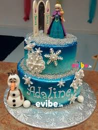 Order Best Value Frozen Theme Cake Online Birthday Cake In
