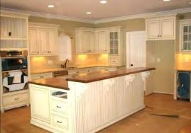 painting kitchen ideas modern designs white spray paint wood island black high gloss countertops faux stone