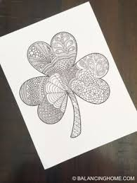 Small Picture st patricks day coloring pages St Patricks Day Shamrock