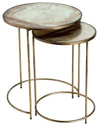 round nesting tables regency round nesting tables set of 2 gold acrylic nesting tables target round nesting tables