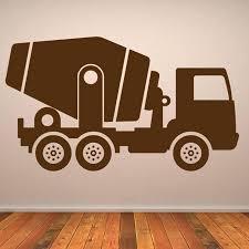 truck wall decor fire