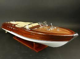model riva aquarama special 87 cm precious wooden boat model