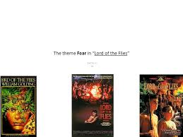 "the theme fear in ""lord of the flies"" zak dunn a ppt  1 the theme fear in ""lord"