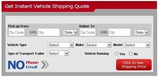 Auto Shipping Quotes Mesmerizing Car Shipping Quote Mesmerizing Vehicle Shipping Quote Extraordinary