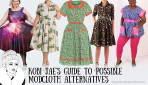 Possible Alternatives To Shopping At Modcloth Horror