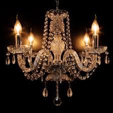 elegant crystal chandelier modern lights 4 lamp pendant fixture lighting