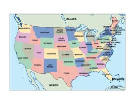 Editable Map Of Usa For Powerpoint Usa Presentation Map Vector World Maps