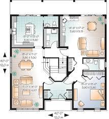 Multi Generational House Plan   DR   st Floor Master Suite    Floor Plan