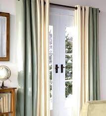 patio door curtains ideas delectable enjoyable sliding glass best curtain for doors single covering