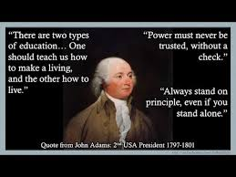 John Adams Quotes Enchanting John Adams Quotes Two Types Of Education Power Must Never Be