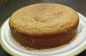 Eggless Cake Recipe Eggless Sponge Cake Recipe Nishamadhulikacom
