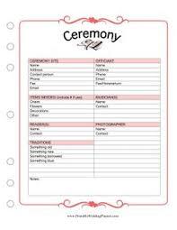 Blank Wedding Planning Checklist 24 Best Wedding Knowledge Images Wedding Ceremony Checklist