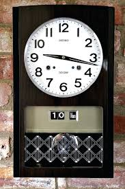 wall clocks with chimes vintage day wall clock with calendar chimes hermle wall clock westminster chime