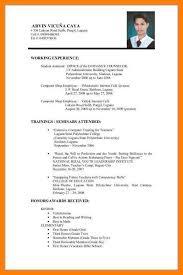 Resume Format Application Resume For Job Application Resume Format Application Modern