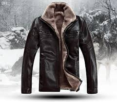 men s brand luxury fur sheep leather men s fur coat very warm in winter leather jacket m 4xl leather coat fur trim coat jacket leather coat zipper