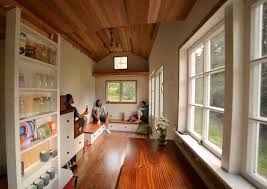 Small Picture Perfect Tiny House Inside Interiorsolar Project On Wheels