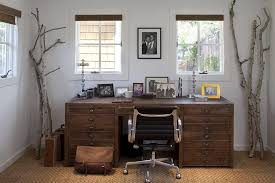 wood desks for home office. Double Sided Desk Home Office Rustic With Seagrass Rug Modern Task Chairs Wood Desks For E