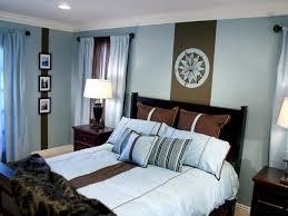 Light Blue And Brown Decor Bedroom Makeover A Modern Master Hgtv