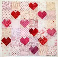 Sweet heart quilt block from Wombat Quilts | Quilt Inspiration ... & Sweet heart quilt block from Wombat Quilts Adamdwight.com