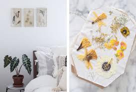 bedroom diy decor. 7. Pressed Flowers Bedroom Diy Decor