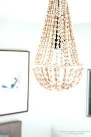 elena wood bead chandelier wooden chandeliers ch
